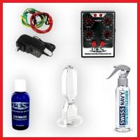 P.E.S. ElectroSex Anal Kit with Medium Acrylic Plug