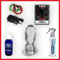 P.E.S. ElectroSex Stanley Anal Plug Kit
