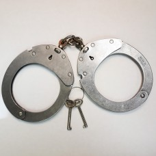 Clejuso Model #12A Stainless Steel Handcuffs