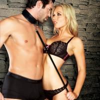 Sportsheets® Neoprene Collar & Leash Set
