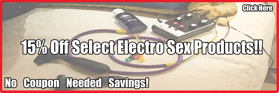 15% Off Select Estim, No Coupon Needed!!