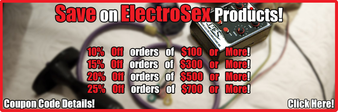 Coupons for Estim!!