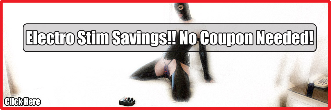 No Coupon Needed Estim Savings!