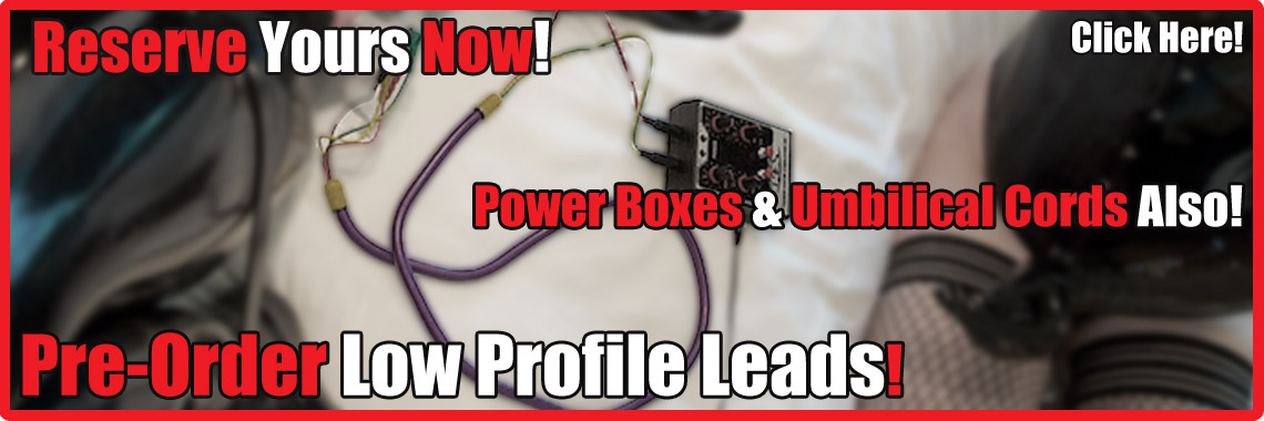 Pre-Order Leads & Umbilicals & Power Boxes