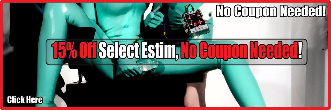 15% Off Estim! No Coupon Needed!!