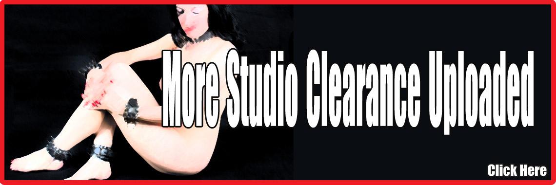 Studio Clearance!