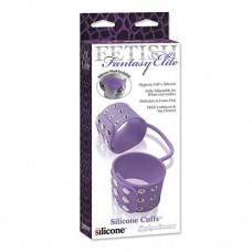 FF Elite Silicone Cuffs & Mask, Purple