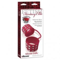 FF Elite Silicone Cuffs & Mask, Red