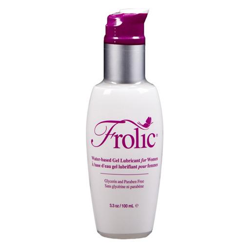 Frolic Water-Based Gel Lubricant for Women, 3.3 oz