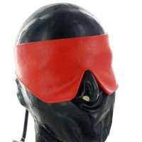Inflatable Latex Blindfold