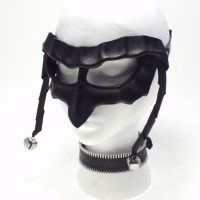 Leather Jester Mask