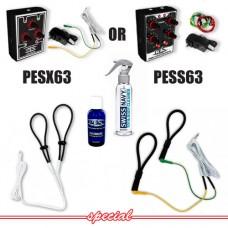 P.E.S. Cock Twins Beginner ElectroSex Kit