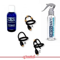 P.E.S. ElectroSex Add-On Kit with Corona Stimulator & Your Choice of Half-Price Electrode