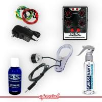 P.E.S. Women's ElectroSex Beginner Kit with Little Big Man Electrode
