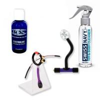 P.E.S. ElectroSex Add-On Kit with Deep Throat Slim Jim & Prostate Stimulator