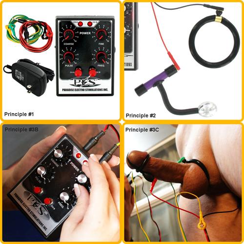 Erotic electrical stimulation
