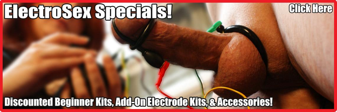Beginner Kit & Add-On Electrode Specials