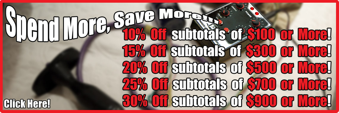 Coupon Codes! Spend More, Save More!